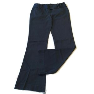 Flaw Limited Pants 4 Chino blue stripe flare boot